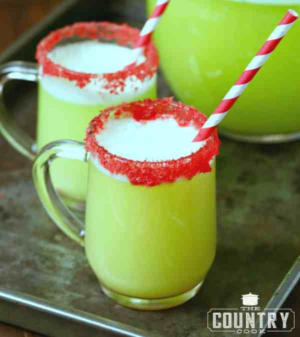 Holiday Party Sherbet Punch - Country Cook