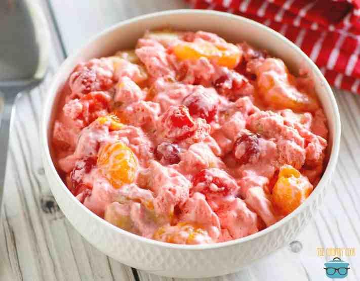 Easy Cherry 7Up Salad recipe