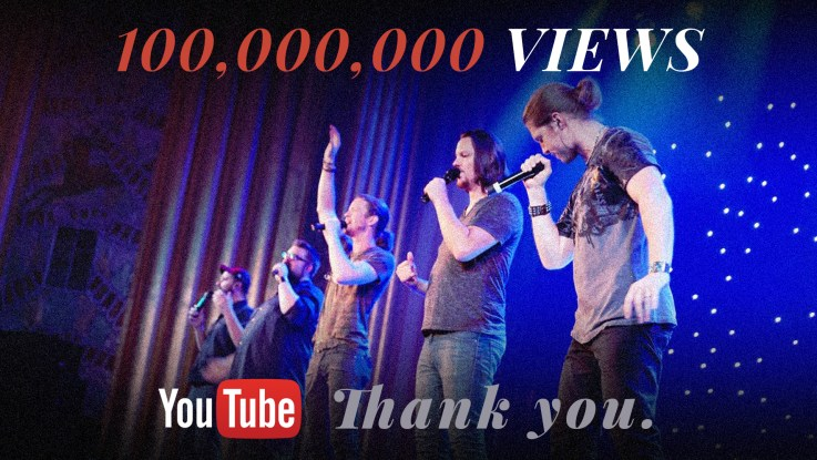 home free celebrates 100 million youtube views