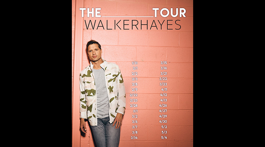 """Walker Hayes /""""Country Music/"""" Personalized T-shirts"""