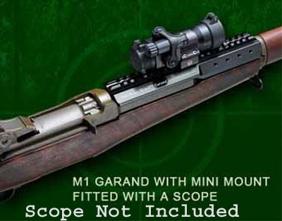 MiniScout Mount for M1 Garand