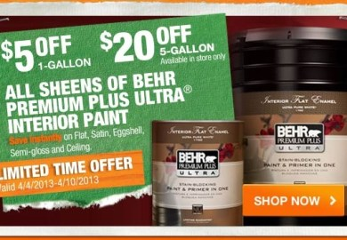 Behr Coupons