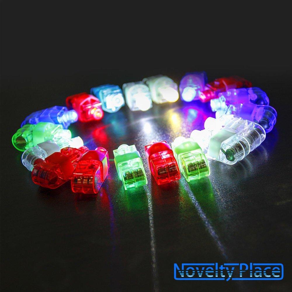 Amazon 40 Piece Set of LED Finger Lights Just 594