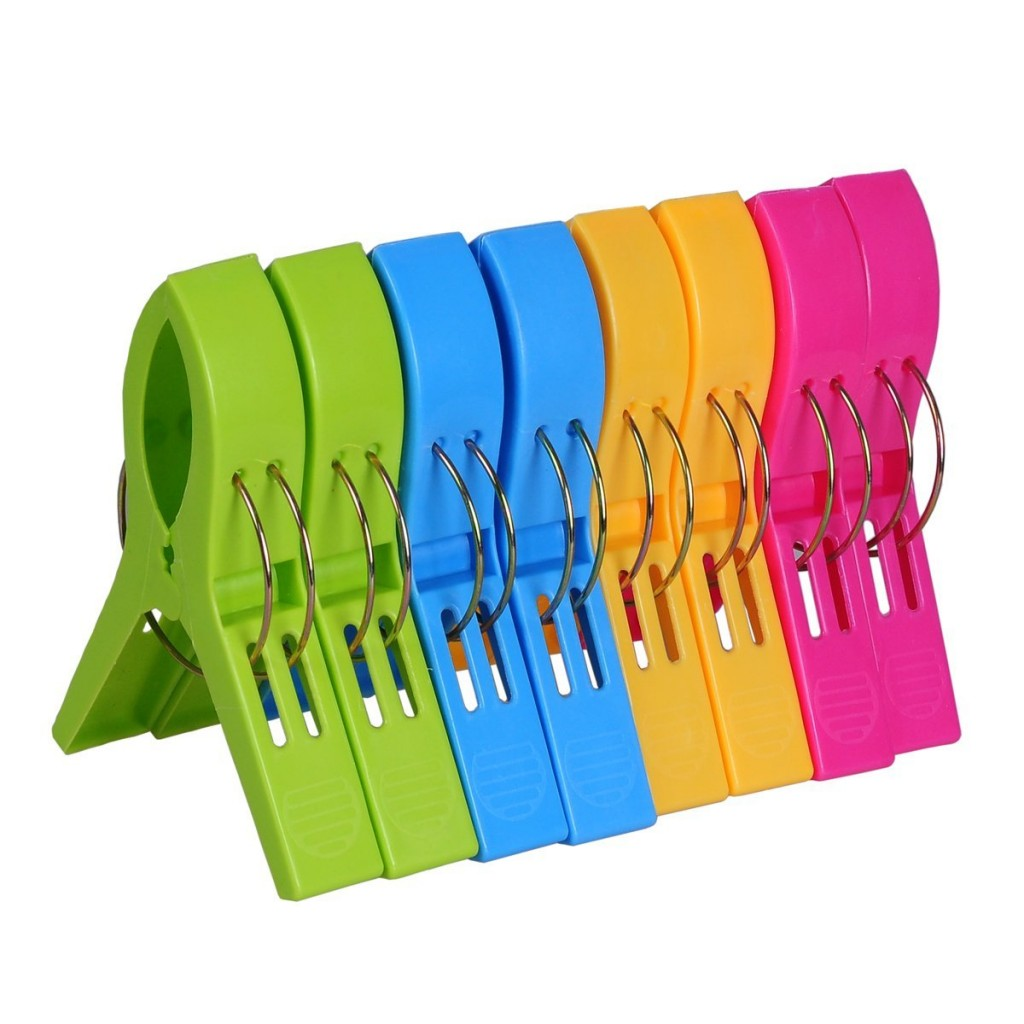 Amazon 8 Pack Beach Towel Clips 999  The Coupon Challenge