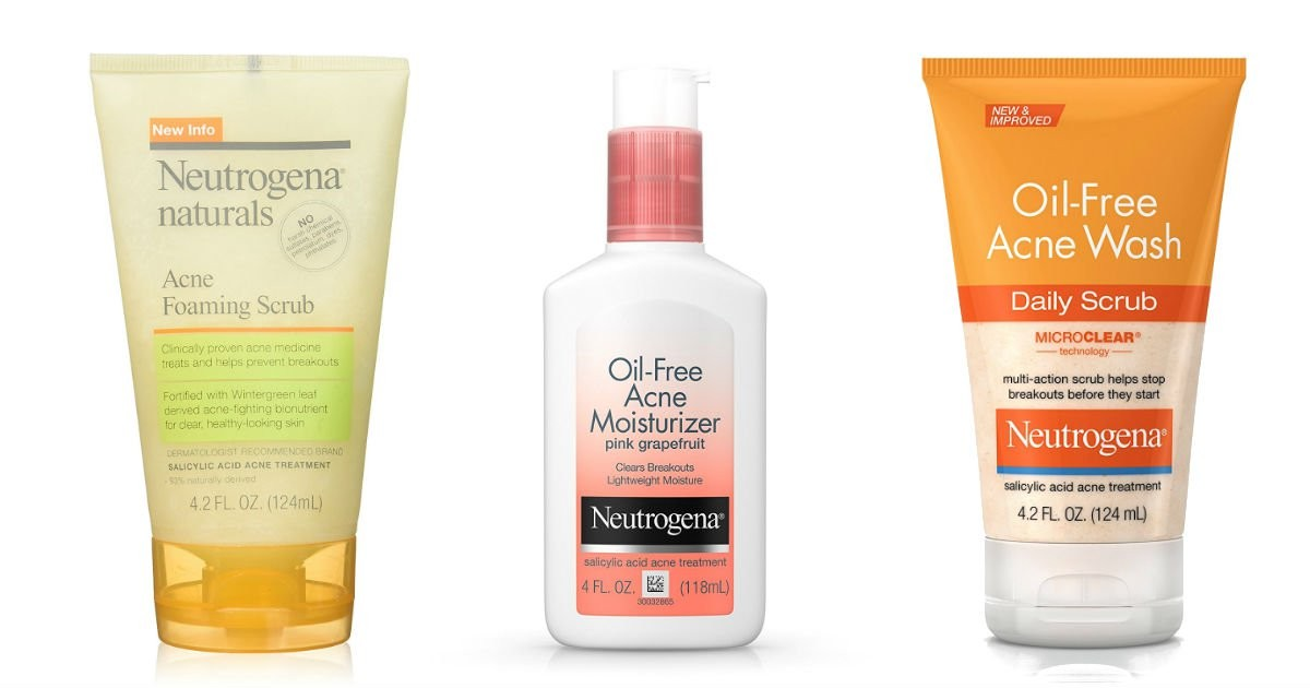 neutrogena acne products 80 off on amazon the couponfunatic