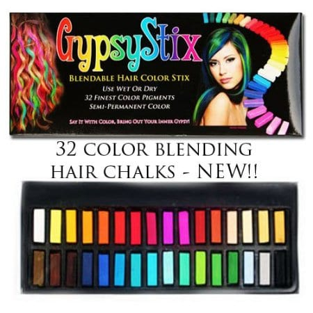 hair chalk 32 blendable colors the couponing couple