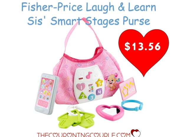 Laugh & Learn Sis' Smart Stages Purse- 13.56