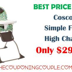 How To Fold Up A Cosco High Chair Armless Chaise Lounge Best Price Ever Simple Only 29