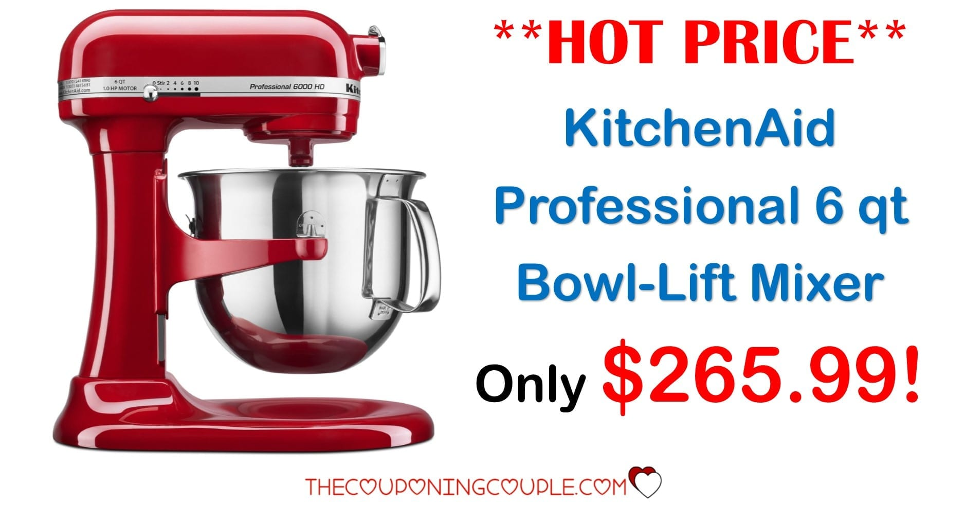 kitchen aid coupons artisan stand mixer best price ever kitchenaid professional 6 qt bowl lift