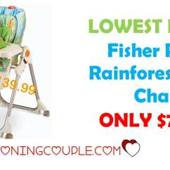 Rainforest High Chair Bedroom Recliner Lowest Price Fisher Only 77 34
