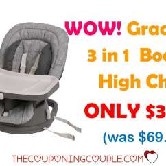 Graco High Chair Coupon Wood Hand Wow Swivi 3 In 1 Booster Only 34 19