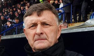 Montrose manager Paul Hegarty.
