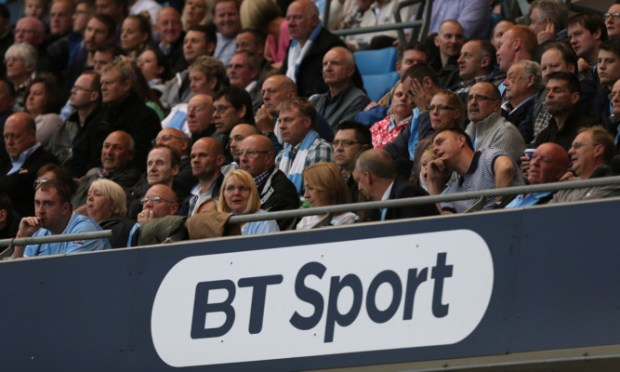 BT Sport has linked up with Virgin Media to challenge Sky's dominance of live football in Britain.