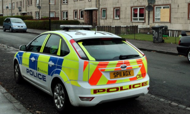 There has been a visible police presence in Douglas since last Wednesday's incidents.