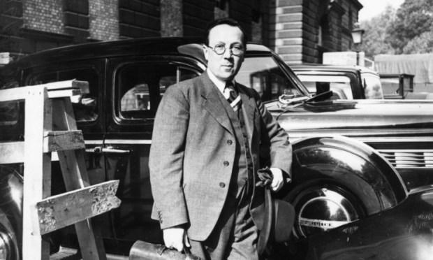 Scottish physicist Sir Robert Watson-Watt.