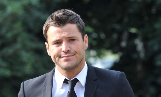 Mark Wright, former star of TOWIE.