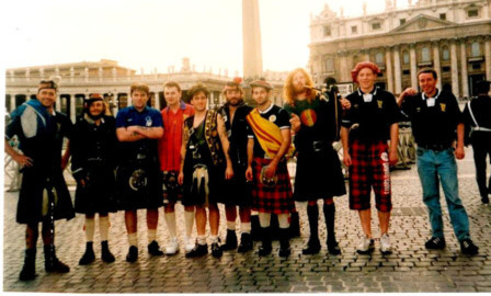 Billy's accounts of his Tartan Army travels are proving a hit with fans.