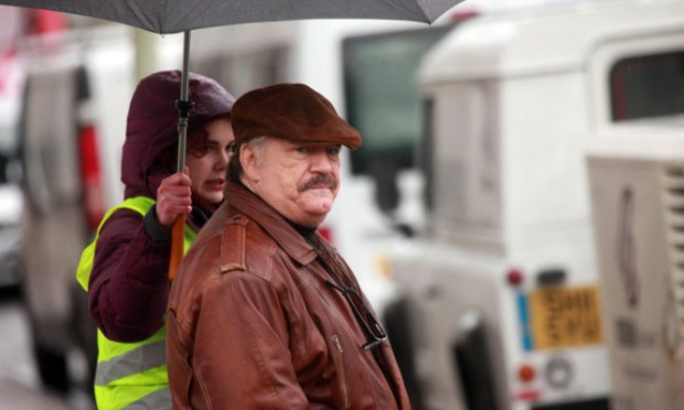 Dundee author Neil Forsyths comic creation Bob Servant had his BBC TV debut on January 23. The show, starring Brian Cox, is based in Broughty Ferry. We look back at the filming as Bob graced the streets of the Ferry last year.