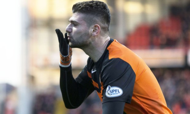 Nadir Ciftci shows some love. Is he getting it back from United fans?