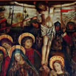 A cross to bear – BBC documentary reveals exuberant medieval painting in Angus church