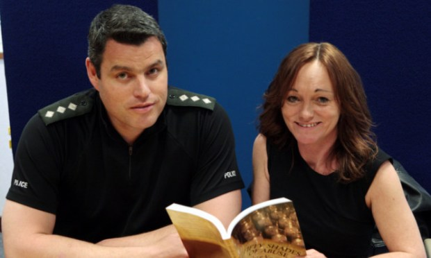 Chief Inspector Conrad Trickett and Eve Thomas.