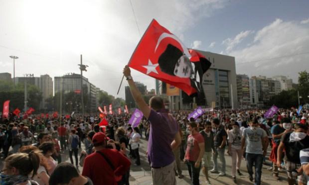 TURKEY Protest 22