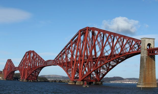The Forth Bridge is one of the highlights