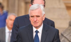 Shadow Chancellor John McDonnell.