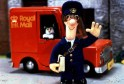 Postman Pat and his black and white cat Jess.