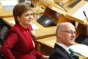 "First Minister Nicola Sturgeon has accused the UK government of ""playing games"" over Trident."