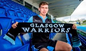 Glasgow Warriors' new signing Hagen Schulte.