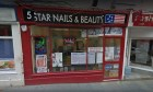 Five Star Nails and Beauty in Dunfermline.
