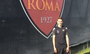 scottish footballer Louis Appere who has been trialling at Roma