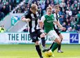 Callum Fordyce gifts Hibs their winner.
