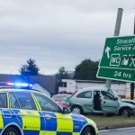 Stracathro crash left driver's partner fighting for life