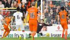 08/08/16 BETFRED CUP 2ND ROUND TIE    DUNDEE UNITED v PARTICK THISTLE    TANNADICE - DUNDEE    Dundee United's Cammy Smith (no.15 - left) scores the opener.