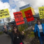 Amazon's Dunfermline warehouse is Dickensian claim protesters