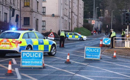 City street on police lockdown after man attacked - The ...