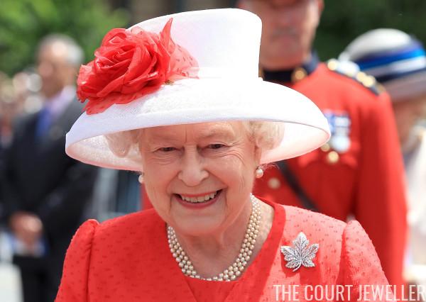 The Diamond Maple Leaf Brooch