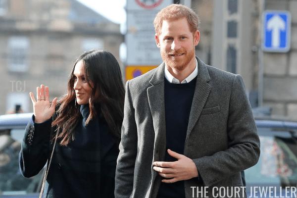 Harry and Meghan visit Edinburgh, February 2018 (Owen Humphreys - WPA Pool/Getty Images)