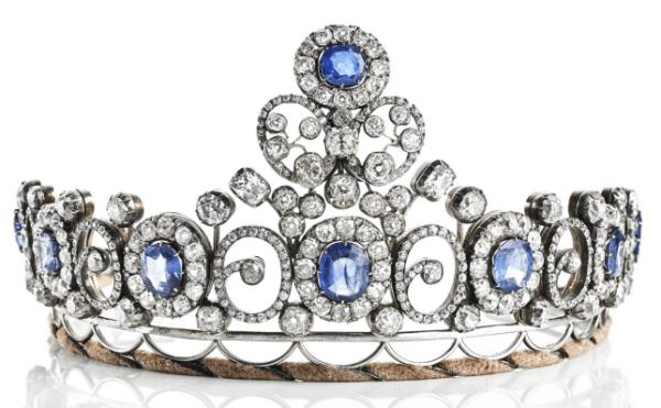 Queen Alexandrine's Sapphire Tiara