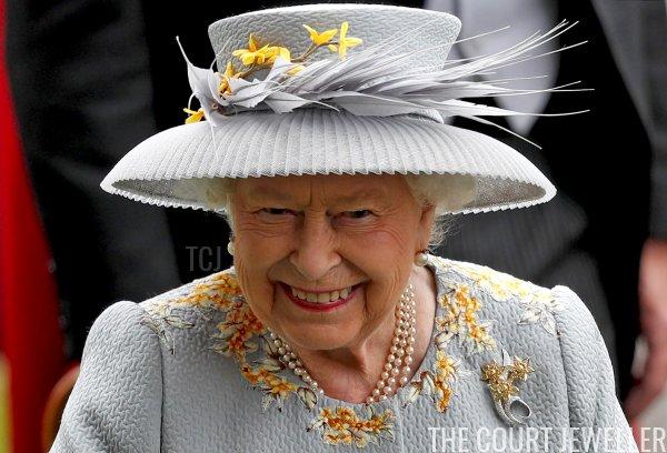 Queen Elizabeth II at Royal Ascot, June 2019