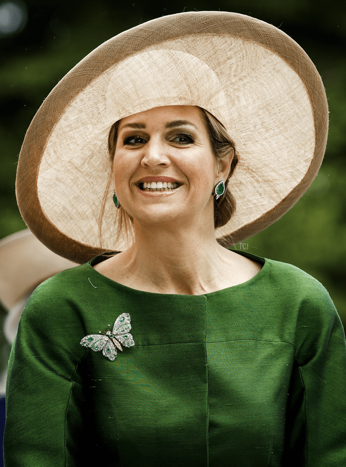 Dutch Queen Maxima attends an international conference on transgender health care at the VU University Medical Centre in Amsterdam, on June 18, 2016
