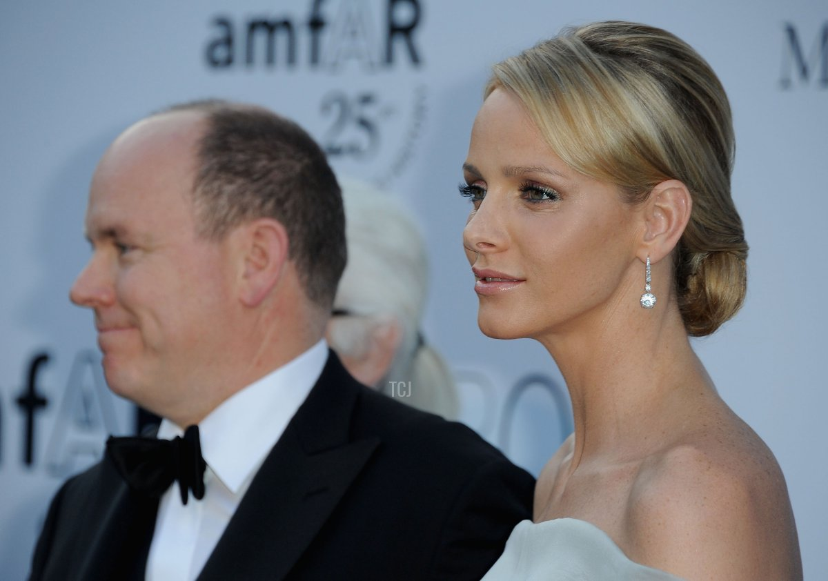Prince Albert II of Monaco and Charlene Wittstock attends amfAR's Cinema Against AIDS Gala during the 64th Annual Cannes Film Festival at Hotel Du Cap on May 19, 2011 in Antibes