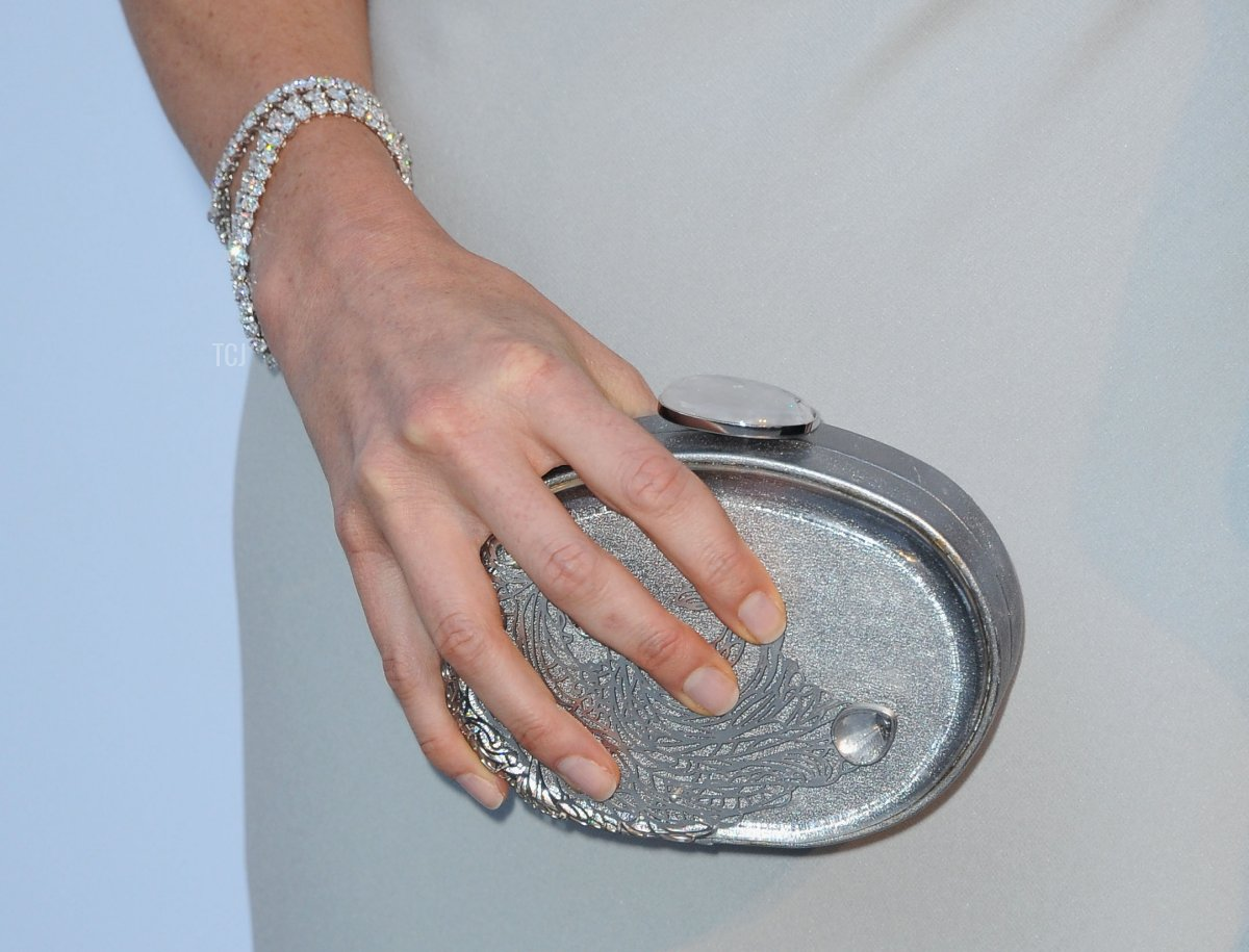 Charlene Wittstock (handbag detail) attends amfAR's Cinema Against AIDS Gala during the 64th Annual Cannes Film Festival at Hotel Du Cap on May 19, 2011 in Antibes