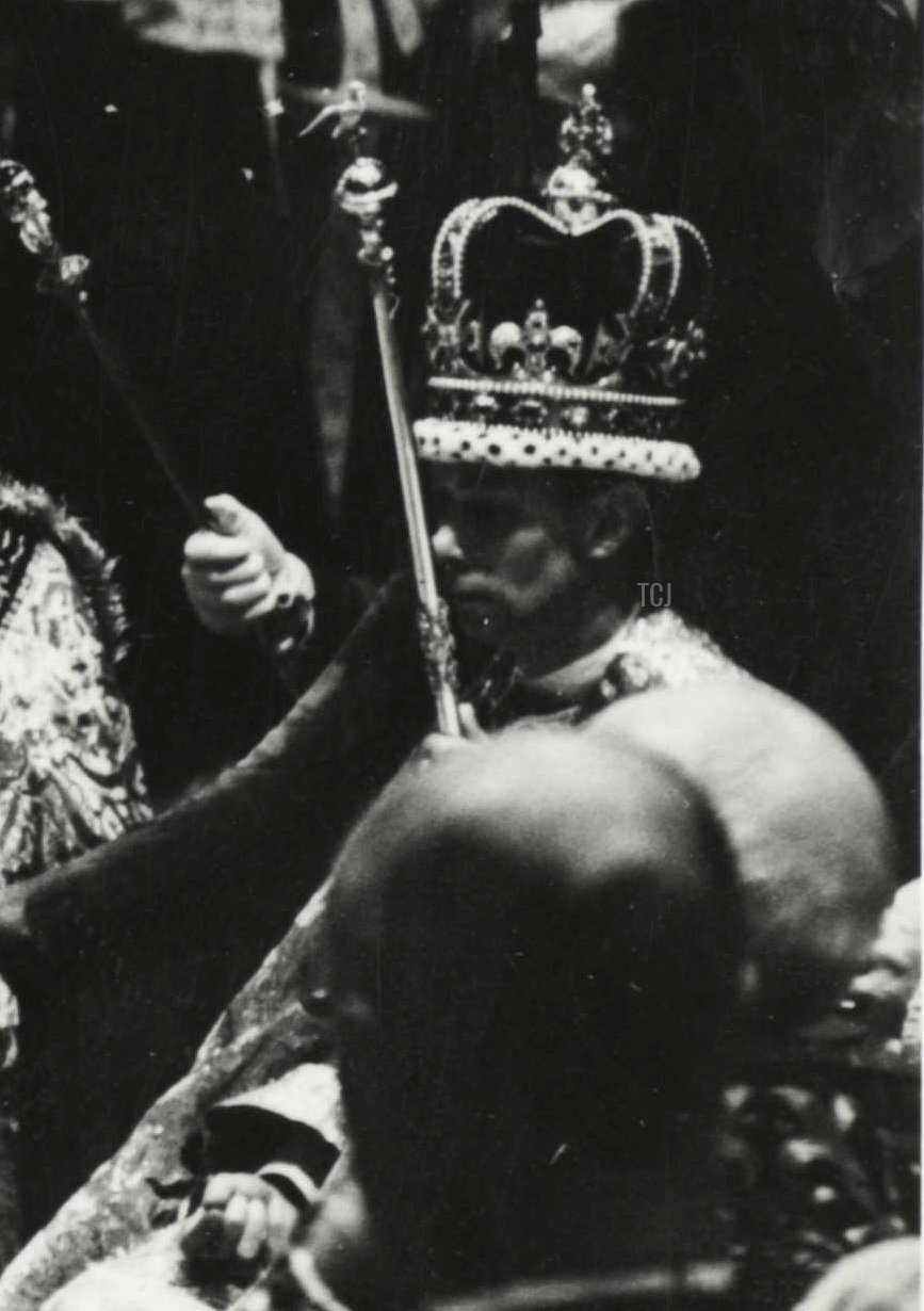 The Coronation Of King George VI And Queen Elizabeth