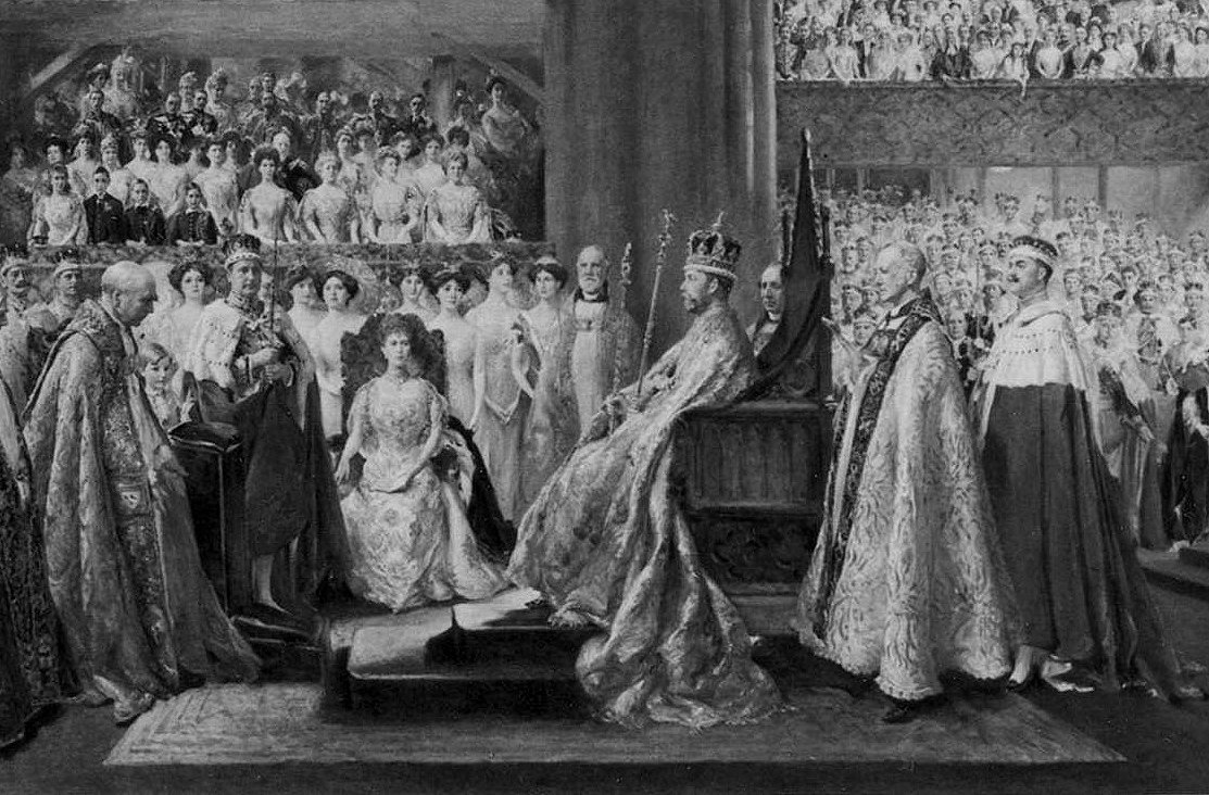 John Henry Frederick Bacon: The Coronation Ceremony of His Most Gracious Majesty King George V in Westminster Abbey. 22nd June 1911 (1912)