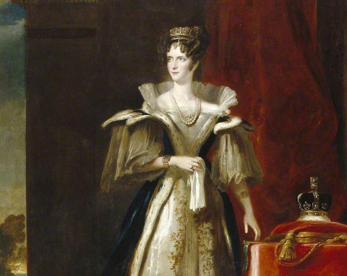 Adelaide of Saxe-Meiningen by John Philip Simpson (1832)