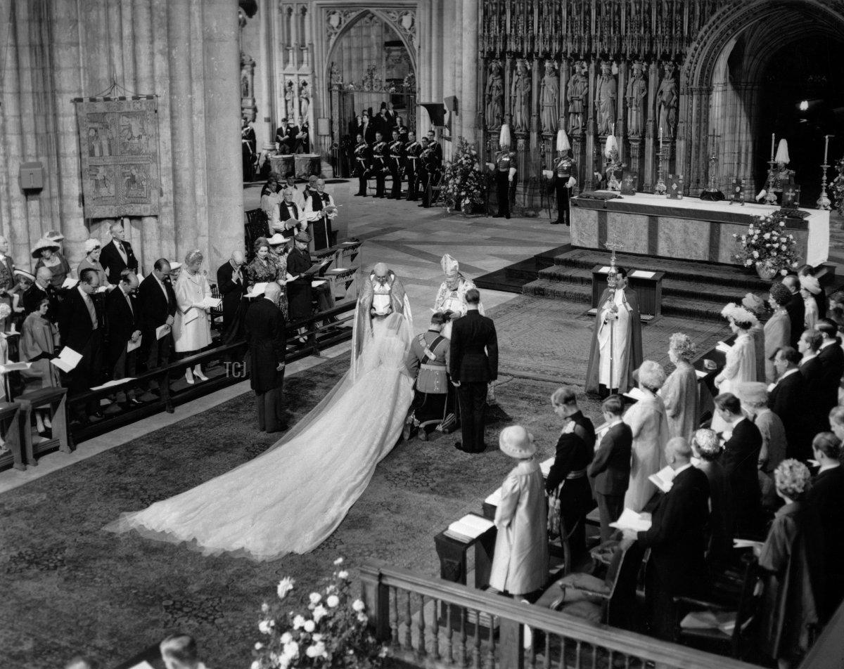 The wedding of the Duke and Duchess of Kent, June 1961