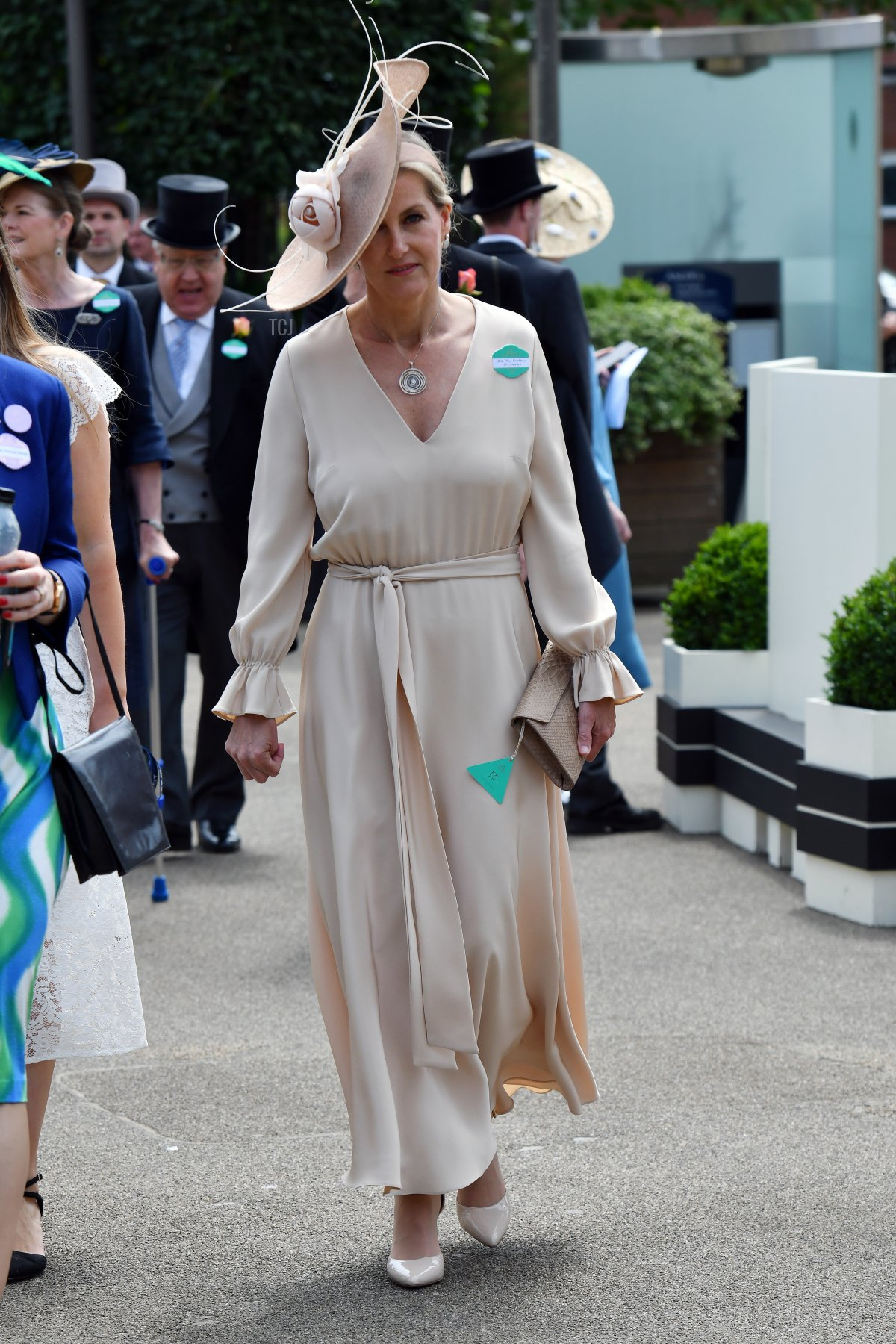 Sophie, Countess of Wessex is seen during Royal Ascot 2021 at Ascot Racecourse on June 15, 2021 in Ascot, England